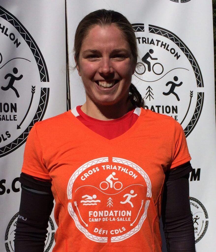 Séverine Bouchez - Porte-parole Cross triathlon Défi CDLS 2019